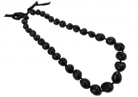 Black Kukui Nut Lei