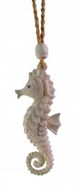 Bone Carved Seahorse