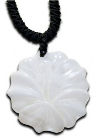 Hibiscus Shell Necklace