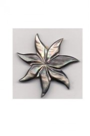 Pointed Petal Tiare Flower-Medium