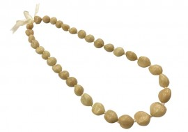 Kukui Nut Necklace - Blonde