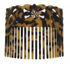Faux Turtle Shell Comb