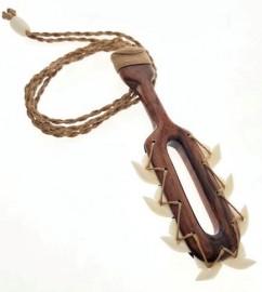 Koa Wood & Tiger Shark Tooth Weapon